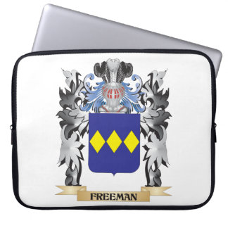 Freeman Coat of Arms - Family Crest Laptop Computer Sleeves