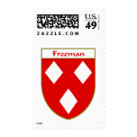 Freeman Coat of Arms/Family Crest Postage Stamps