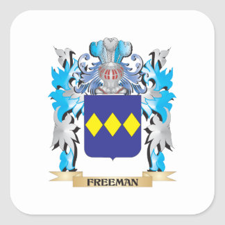 Freeman Coat of Arms - Family Crest Stickers