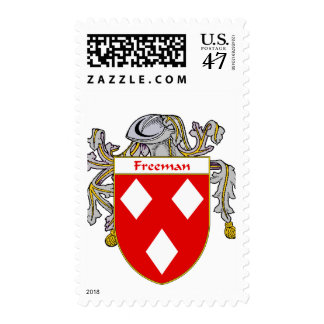 Freeman Coat of Arms (Mantled) Postage