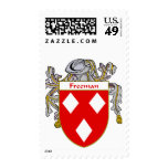 Freeman Coat of Arms (Mantled) Postage