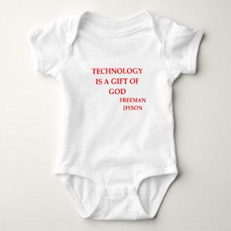 freeman dyson quote baby bodysuit