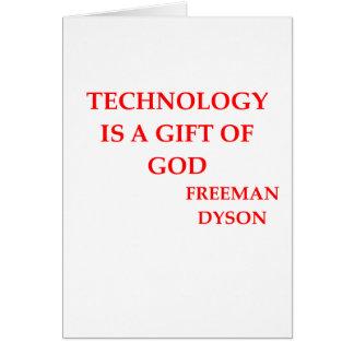 freeman dyson quote card