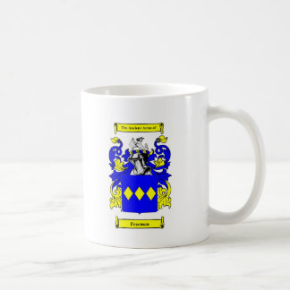 Freeman (English) Coat of Arms Coffee Mug