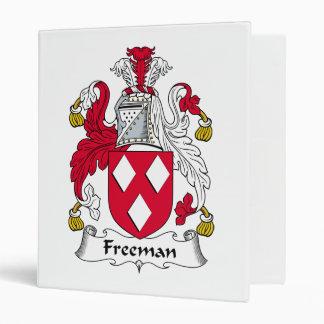Freeman Family Crest Vinyl Binder
