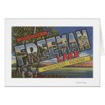 Freeman Lake - Large Letter Scenes Card