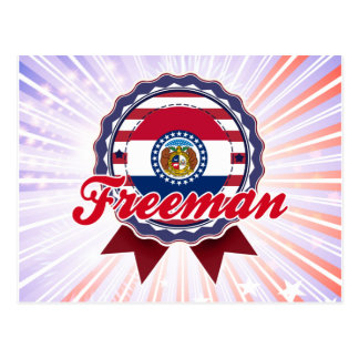Freeman MES Tarjetas Postales