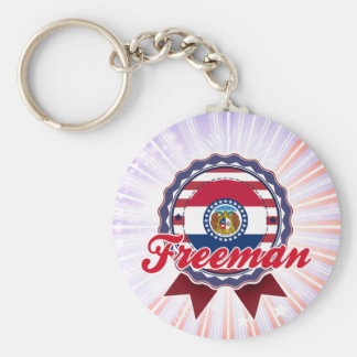 Freeman, MO Keychains