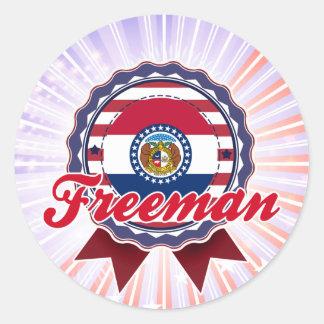 Freeman, MO Sticker