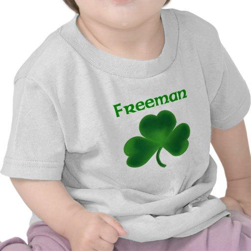 Freeman Shamrock T Shirts