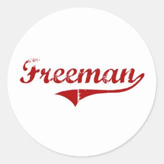 Freeman South Dakota Classic Design Sticker