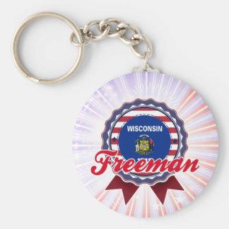 Freeman, WI Key Chain