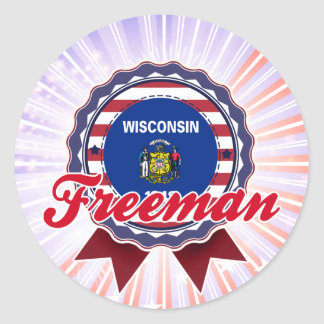 Freeman, WI Sticker