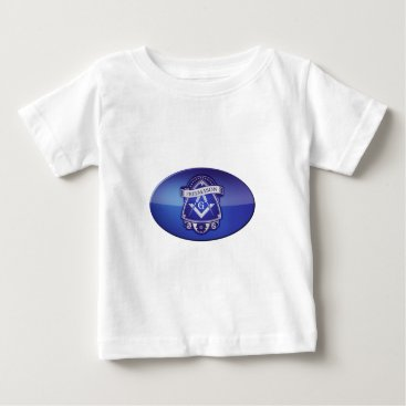 USA Themed freemason baby T-Shirt