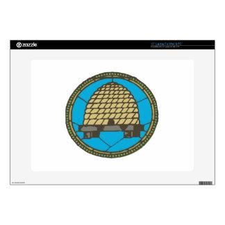 "Freemason Beehive Skins For 15"" Laptops"