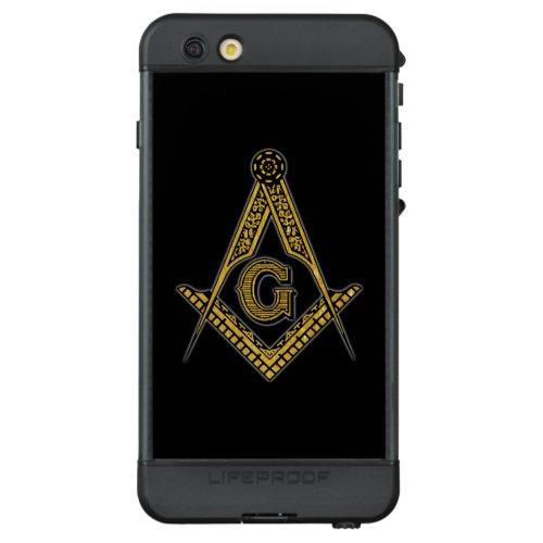 Freemason (Black & Gold) Phone Case