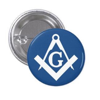 Freemason 1 Inch Round Button