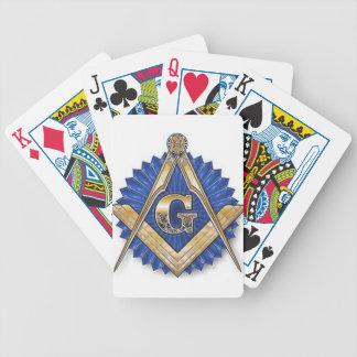 Freemason Baraja Cartas De Poker
