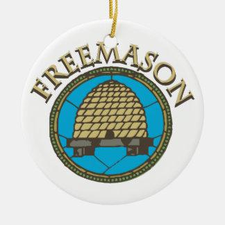 Freemason Ceramic Ornament