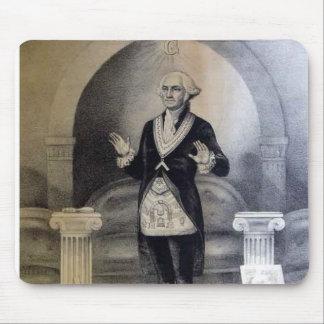 Freemason de George Washington Tapete De Raton