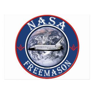 Freemason de la NASA Postales