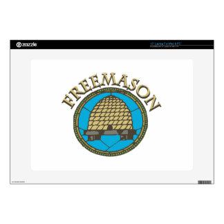 "Freemason Decal For 15"" Laptop"