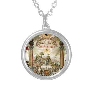 Freemason Eblematic Chart Personalized Necklace