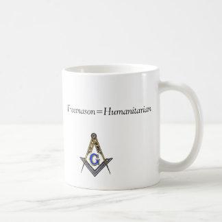 Freemason=Humanitarian Mug