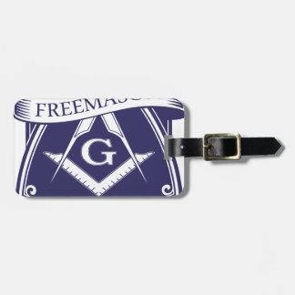 Freemason Illuninati All-seeing Eye Bag Tag