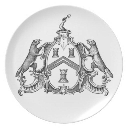 Freemason industrioso platos de comidas