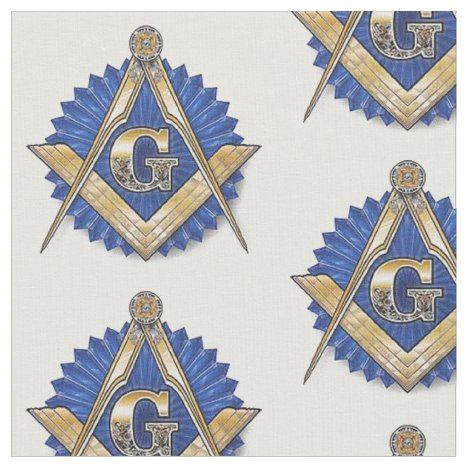 Freemason Masonic Fabric Blue Lodge