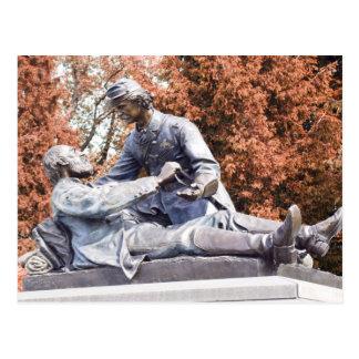 Freemason Memorial Gettysburg PA Postcard