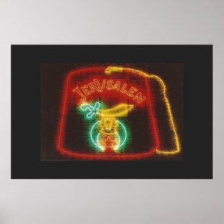 Freemason Neon Sign