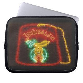 Freemason Neon Sign Computer Sleeve