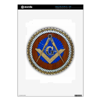 freemason NWO conspiracy square & compass Decal For The iPad 2