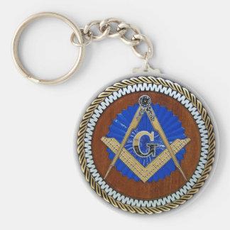 freemason NWO conspiracy square & compass Keychain
