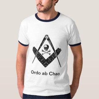 """Freemason """"Order out of Chaos"""" T Shirt"""