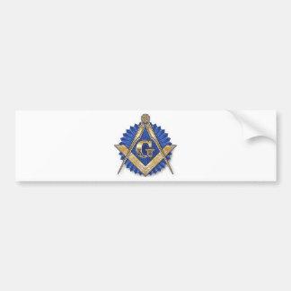 Freemason Pegatina Para Auto