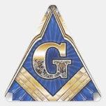 Freemason Pegatinas Triangulo