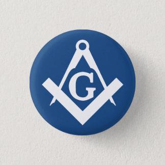 Freemason Pinback Button
