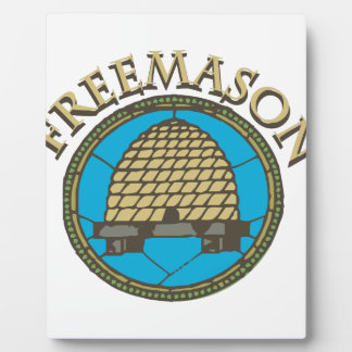 Freemason Plaque