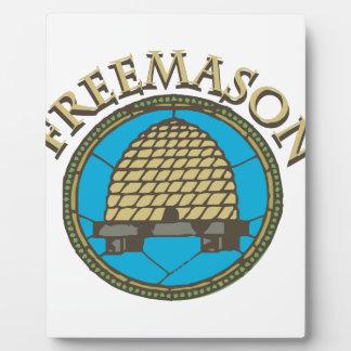 Freemason Plaque