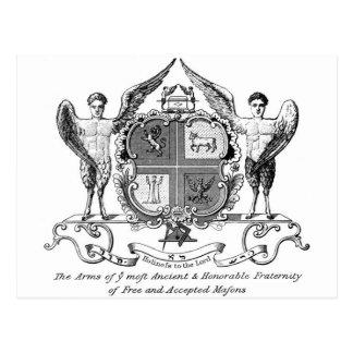 Freemason Postales