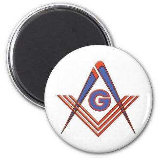Freemason symbol fridge magnet