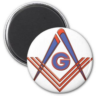 Freemason symbol magnet