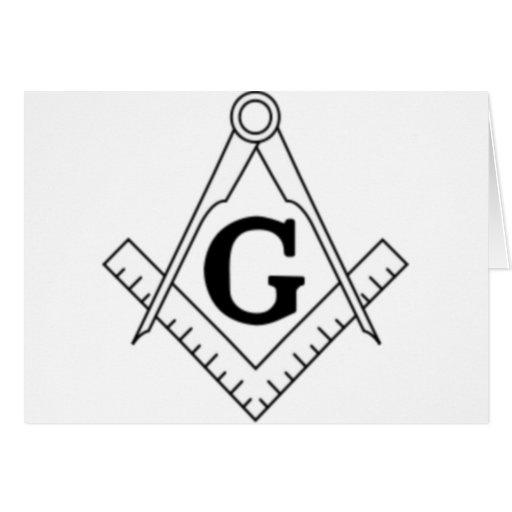 Freemason Tarjeta De Felicitación