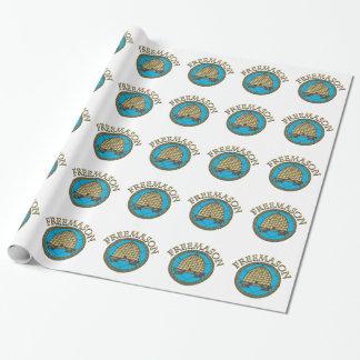 Freemason Wrapping Paper