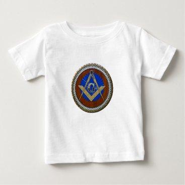 USA Themed freemasonic baby T-Shirt