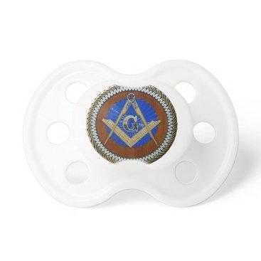 USA Themed freemasonic pacifier