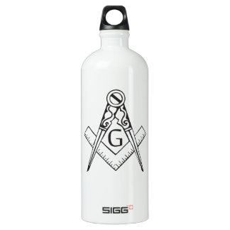 freemasonry.ai aluminum water bottle